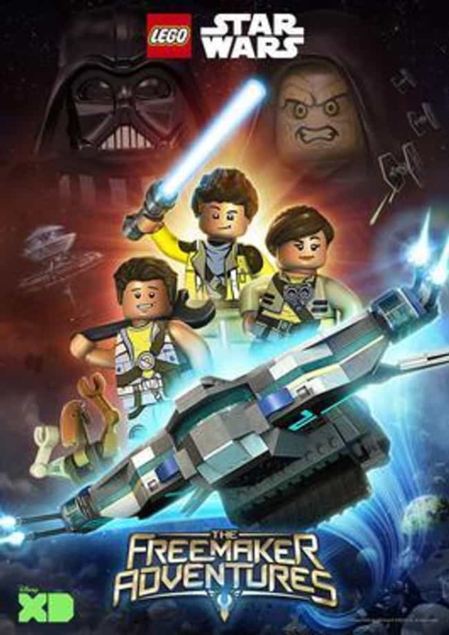 Lego Star Wars: The Freemaker ... is listed (or ranked) 3 on the list The Best LEGO TV Shows Ever Made