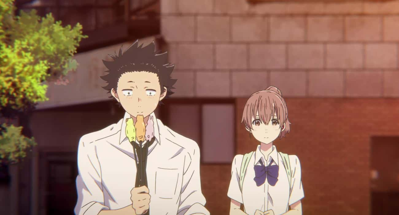 A Silent Voice is listed (or ranked) 1 on the list The 15 Best High School Romance Anime