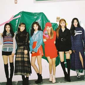 (G)I-DLE is listed (or ranked) 6 on the list The Best K-pop Girl Groups Of All-Time