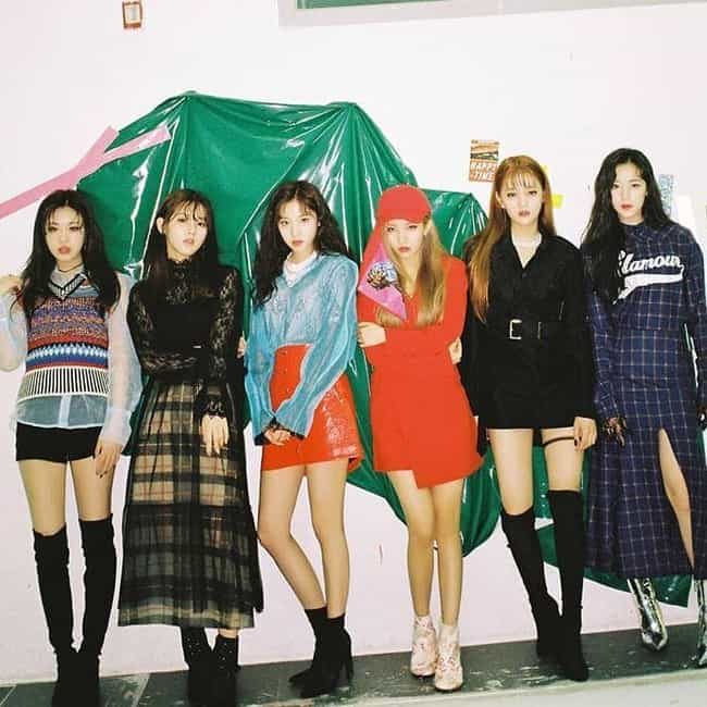 (G)I-DLE is listed (or ranked) 2 on the list The Best K-pop Girl Groups With 6 Members
