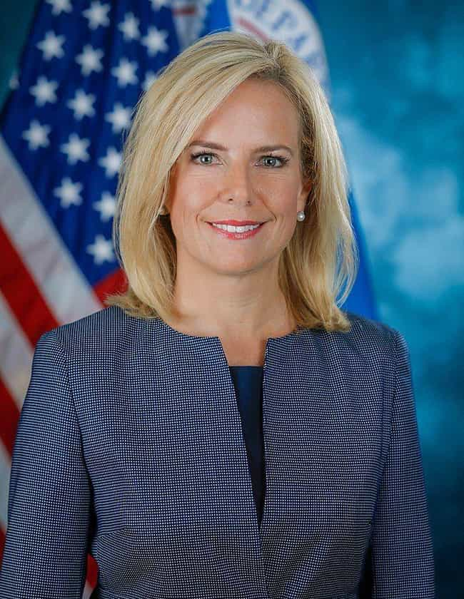 Kirstjen Nielsen is listed (or ranked) 58 on the list Everyone Who Has Been Fired Or Resigned From The Trump Administration So Far