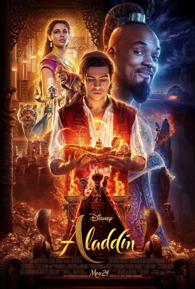 Aladdin is listed (or ranked) 4 on the list The Best Disney Live-Action Remakes Of The Last Few Years, Ranked