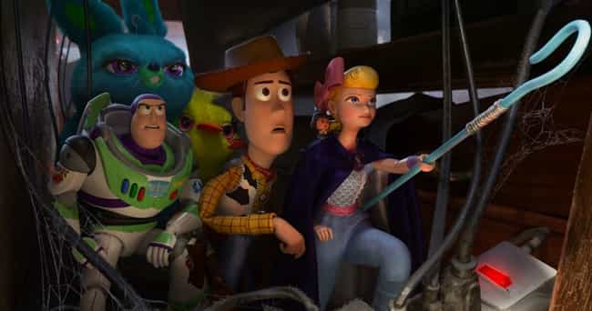 Toy Story 4 is listed (or ranked) 2 on the list Incredible Details From Our Favorite Pixar Movies That Made Us Appreciate Them Even More
