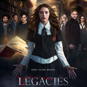 Legacies is listed (or ranked) 9 on the list The Best New Teen TV Shows of the Last Few Years