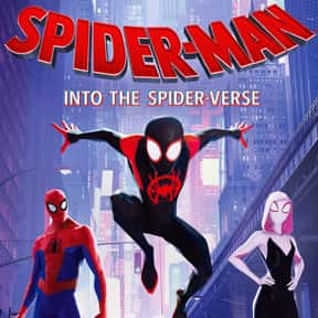 Spider-Man: Into the Spider-Ve is listed (or ranked) 2 on the list The Best Animated Films Ever