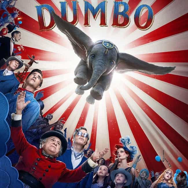 Dumbo is listed (or ranked) 4 on the list The Best Date Movies Out Now