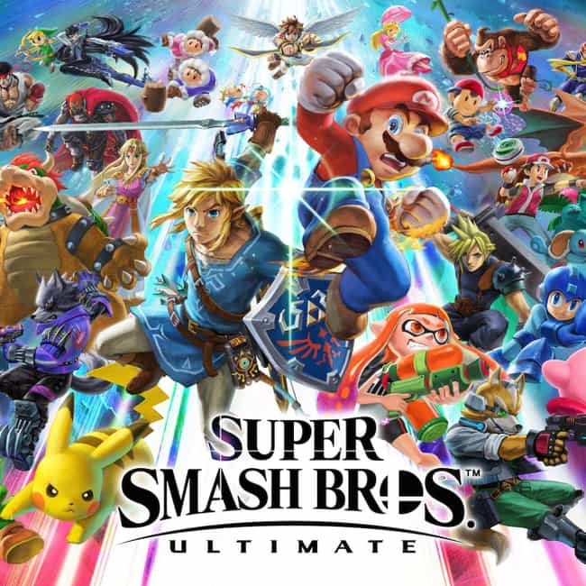 Super Smash Bros. Ultima... is listed (or ranked) 2 on the list The Most Popular Nintendo Switch Games Right Now
