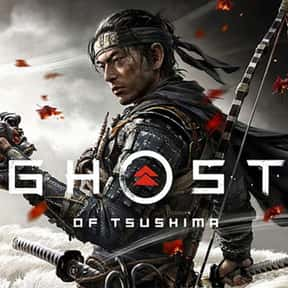 Ghost of Tsushima is listed (or ranked) 7 on the list The Most Popular PS4 Games Right Now