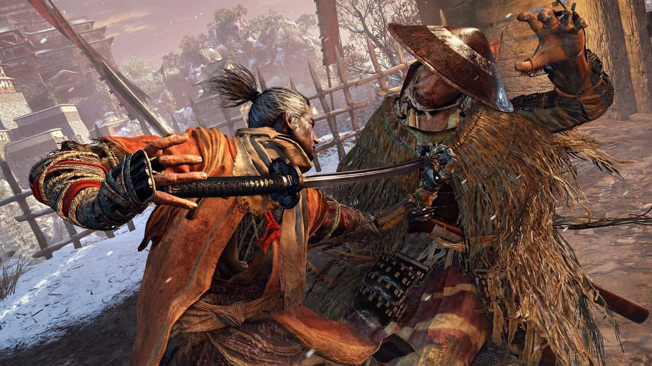 Sekiro: Shadows Die Twice is listed (or ranked) 1 on the list 15 PS4 Games That Are So Hard They'll Make You Want To Chuck Your Controller