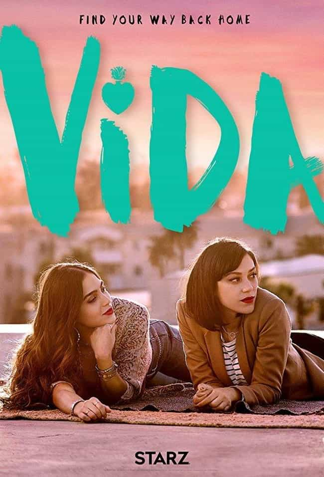Vida is listed (or ranked) 4 on the list The Best Current Starz Shows