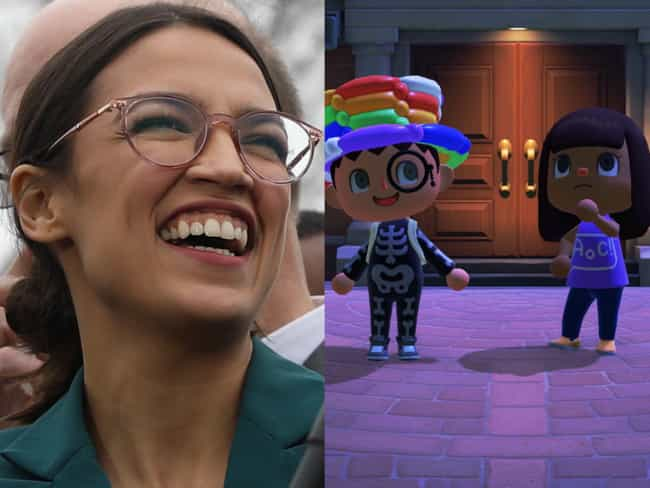Alexandria Ocasio-Cortez... is listed (or ranked) 3 on the list Celebrities Who Play 'Animal Crossing: New Horizons'