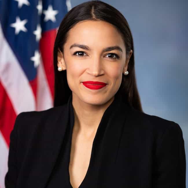 Alexandria Ocasio-Cortez is listed (or ranked) 4 on the list Millennials Making a Difference in 2019