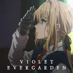Violet Evergarden is listed (or ranked) 20 on the list The Best English-Dubbed Anime on Netflix