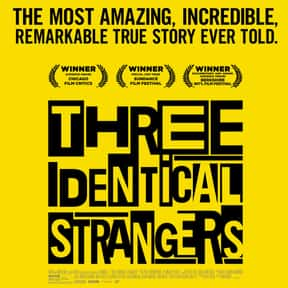 Three Identical Strangers is listed (or ranked) 1 on the list The Best Documentaries on Hulu