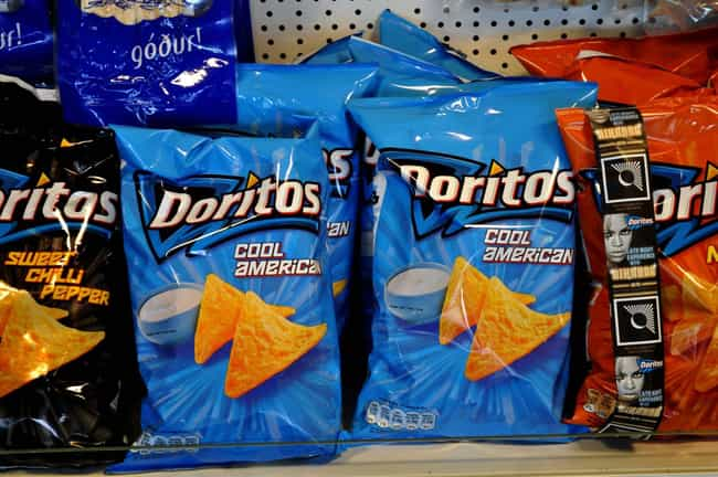 Doritos is listed (or ranked) 3 on the list 19 Must-Have Snacks for Gamers