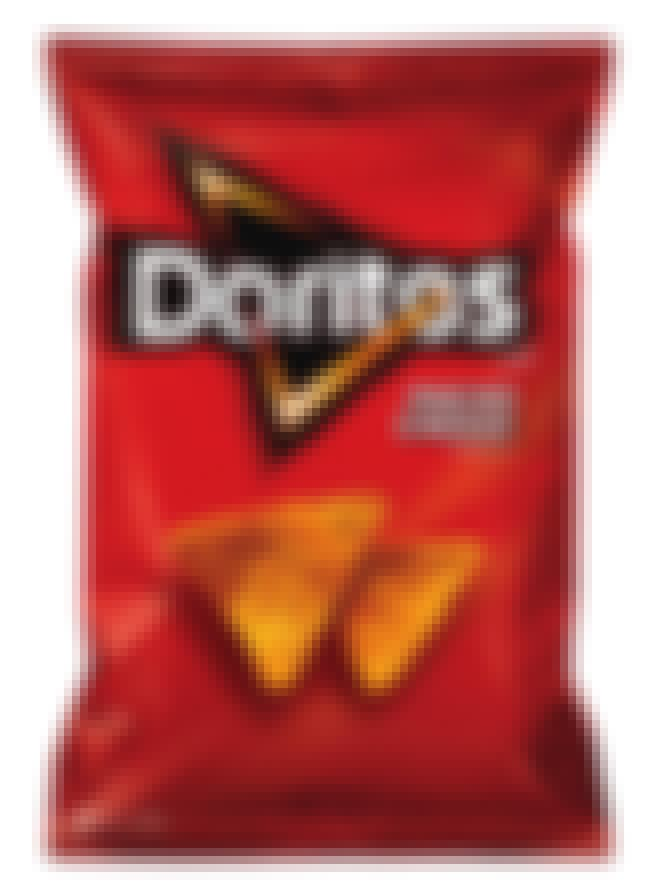 Doritos is listed (or ranked) 4 on the list 19 Must-Have Snacks for Gamers