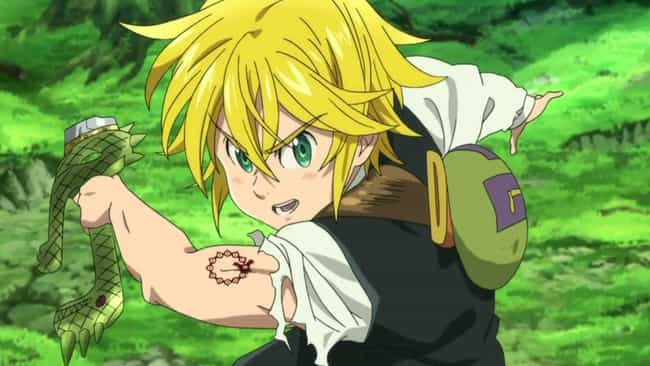 Meliodas is listed (or ranked) 1 on the list 13 Anime Characters Who Use Their Enemy's Attacks Against Them