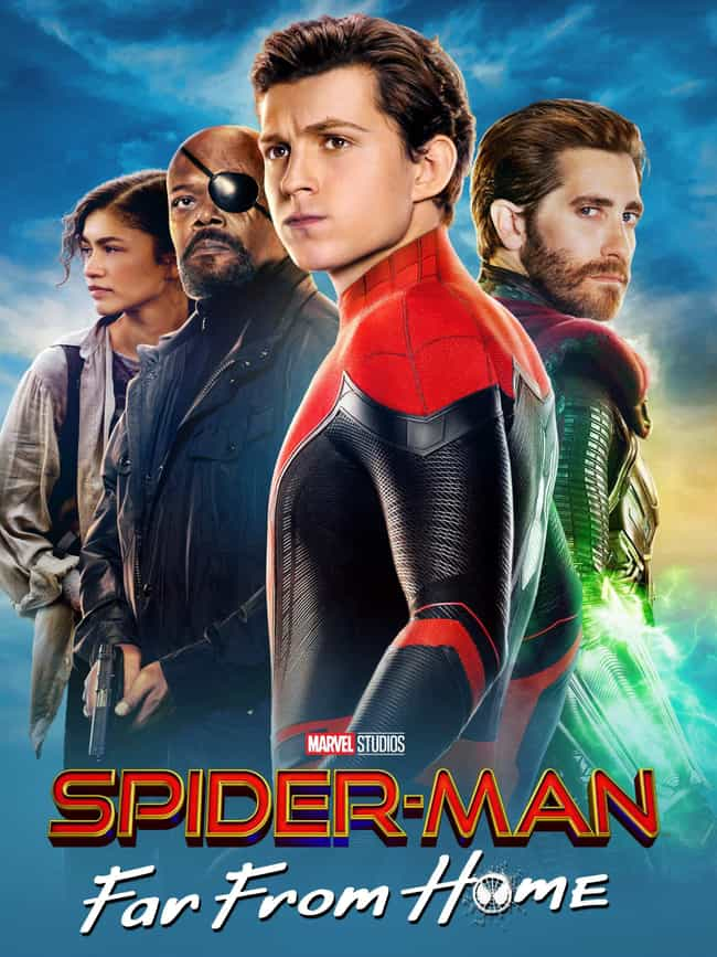 Spider-Man: Far From Home is listed (or ranked) 1 on the list The Best Zendaya Movies
