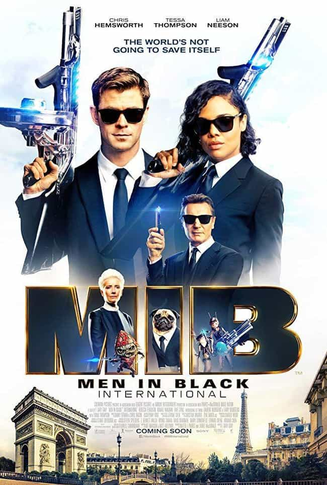 Men in Black International is listed (or ranked) 4 on the list All the 'Men in Black' Movies, Ranked Best to Worst