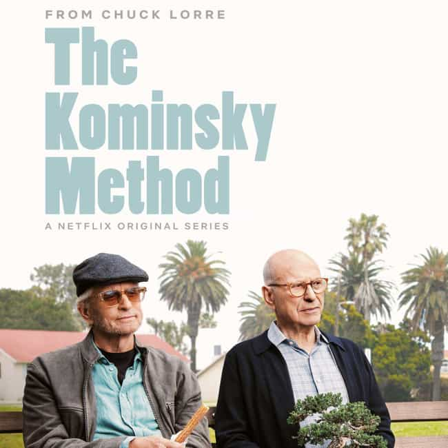 The Kominsky Method is listed (or ranked) 4 on the list Every TV Show Coming To Netflix In October 2019