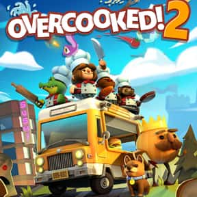 Overcooked 2 is listed (or ranked) 25 on the list The Most Popular Nintendo Switch Games Right Now