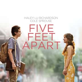 Five Feet Apart is listed (or ranked) 2 on the list The Best Romance Movies Rated PG-13