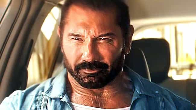 Stuber is listed (or ranked) 4 on the list The 15 Best Dave Bautista Performances Of All Time