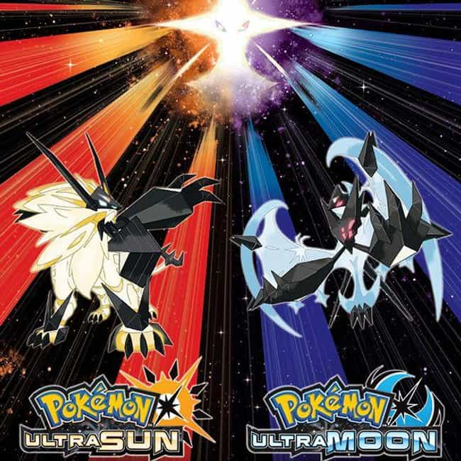 Pokémon Ultra Sun and Ultra Mo... is listed (or ranked) 3 on the list The Best Pokémon Nintendo 3DS Games, Ranked