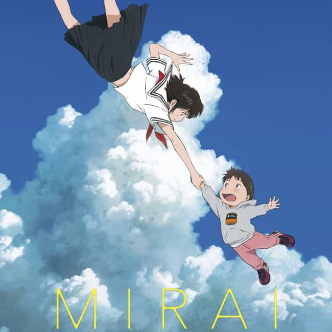 Mirai is listed (or ranked) 3 on the list The 15 Best Anime Movies of 2018 You Don't Want To Miss