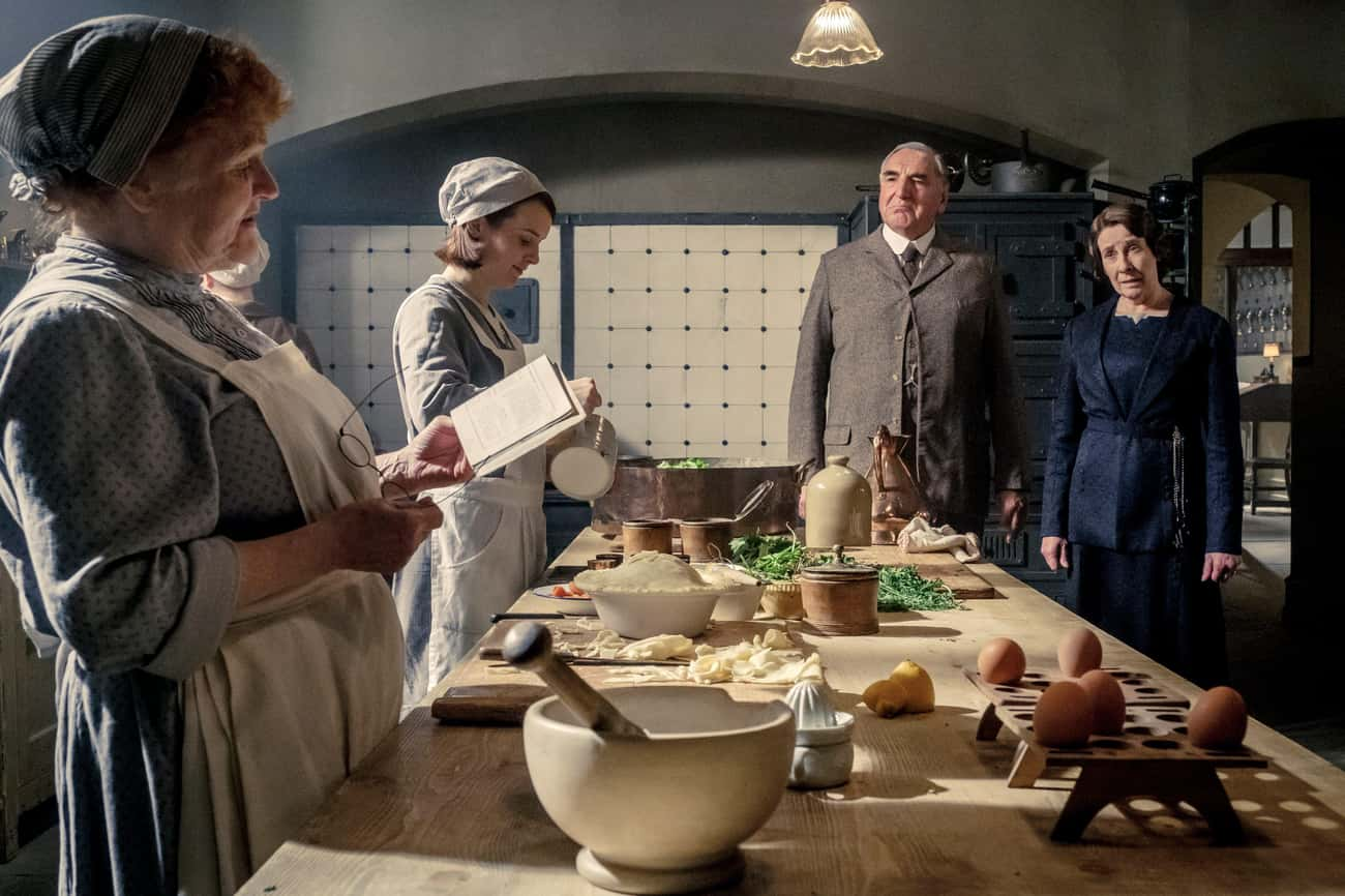 Below The Decks At 'Downton Ab is listed (or ranked) 2 on the list The Best Movie Kitchens Of All Time