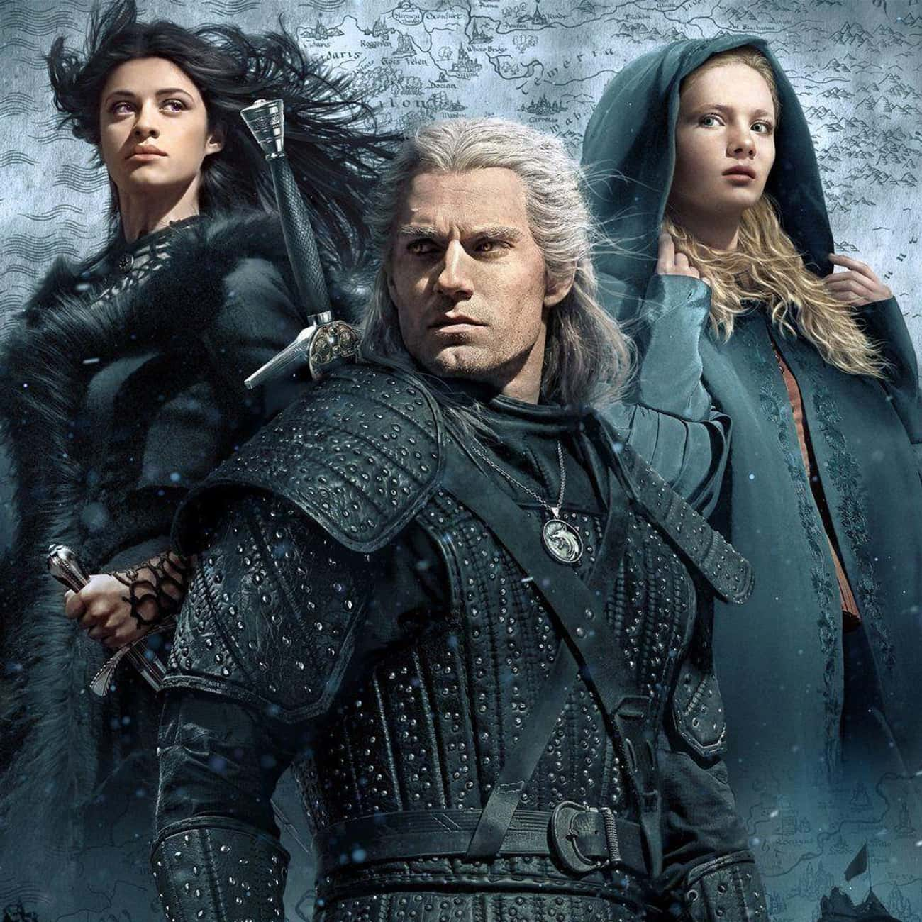 The Witcher is listed (or ranked) 3 on the list What To Watch If You Love 'Once Upon A Time'