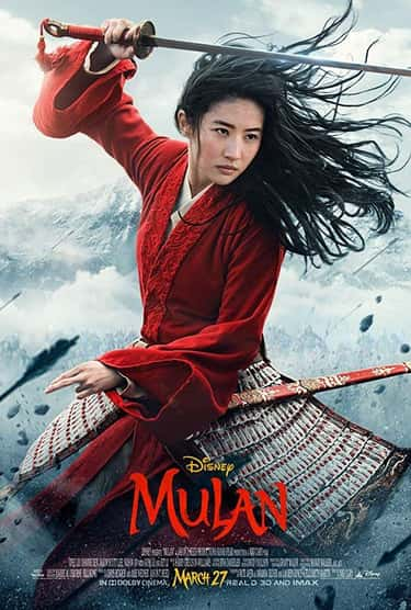 Mulan is listed (or ranked) 2 on the list The Coolest Movie Posters For 2020 Films