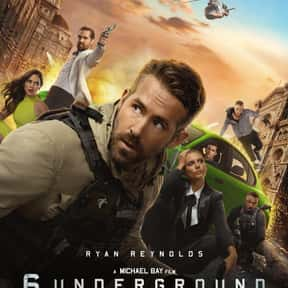 6 Underground is listed (or ranked) 24 on the list The Best Ryan Reynolds Movies