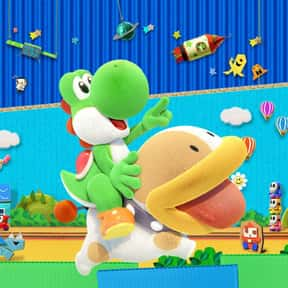 Yoshi's Crafted World is listed (or ranked) 15 on the list The Most Popular Nintendo Switch Games Right Now