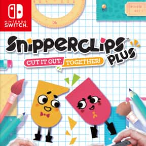 Snipperclips Plus: Cut it out, is listed (or ranked) 6 on the list The Best Co-op Games For Nintendo Switch
