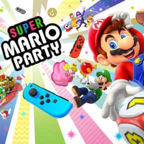 Super Mario Party is listed (or ranked) 2 on the list The Best Switch Games For Couples