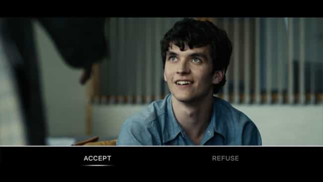 Black Mirror: Bandersnatch is listed (or ranked) 1 on the list The Best Netflix Interactive Content