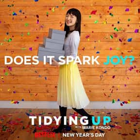 Tidying Up with Marie Kondo is listed (or ranked) 14 on the list The Best New Netflix Shows That Have Premiered in 2019