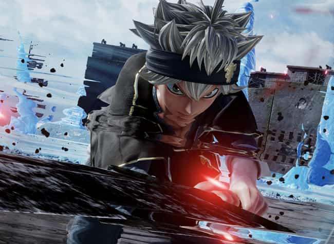 Asta is listed (or ranked) 3 on the list The Best 'Jump Force' Characters
