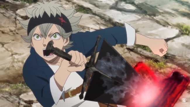 Asta is listed (or ranked) 4 on the list 15 Anime Characters Who Prove Dark Isn't Necessarily Evil