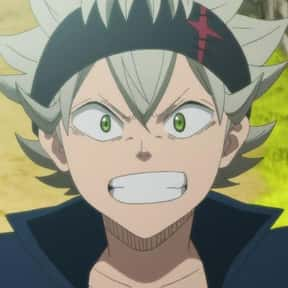Asta is listed (or ranked) 15 on the list The Best Short Anime Characters of All Time