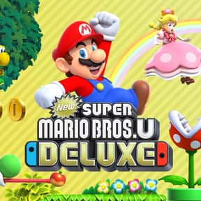 New Super Mario Bros. U Deluxe is listed (or ranked) 16 on the list The Most Popular Nintendo Switch Games Right Now