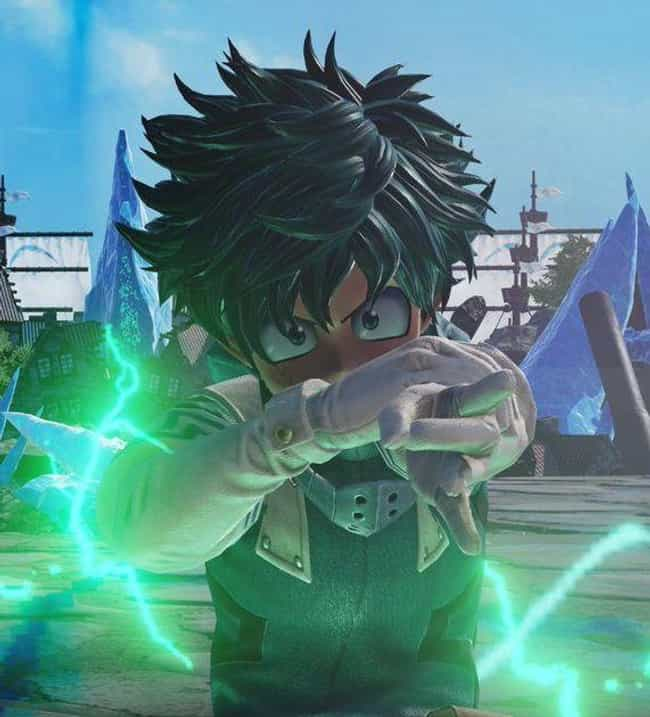 Izuku Midoriya is listed (or ranked) 2 on the list The Best 'Jump Force' Characters