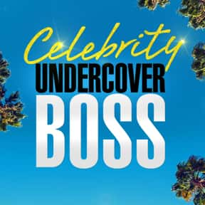 Celebrity Undercover Boss is listed (or ranked) 4 on the list The Best New Reality TV Shows of the Last Few Years