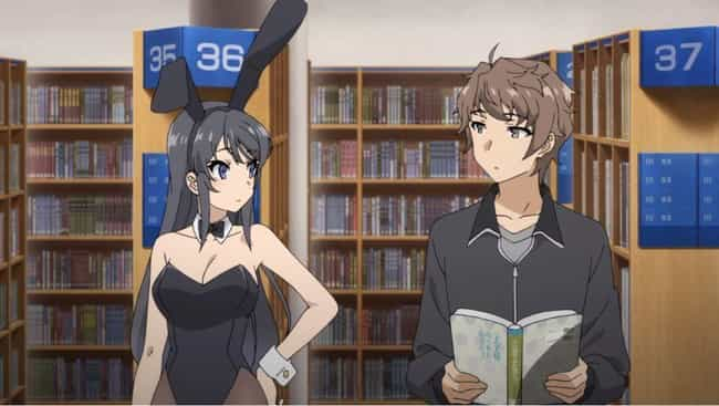 Rascal Does Not Dream of Bunny... is listed (or ranked) 4 on the list The 15 Best High School Romance Anime