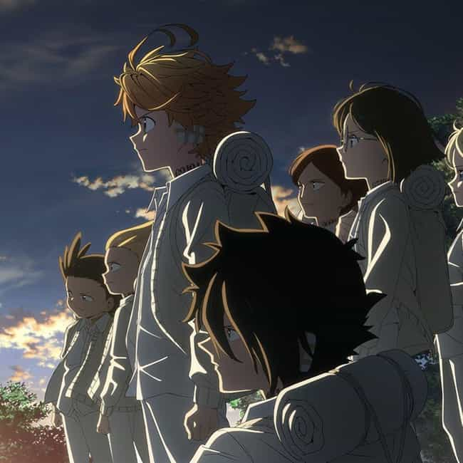 The Promised Neverland ... is listed (or ranked) 2 on the list The 15 Best New Horror & Supernatural Anime Coming in 2020