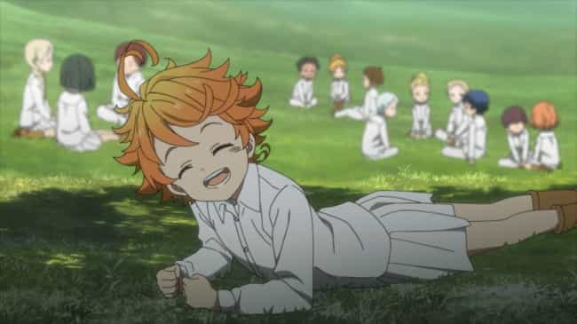 The Promised Neverland ... is listed (or ranked) 1 on the list 13 New Horror & Supernatural Anime Coming In 2019