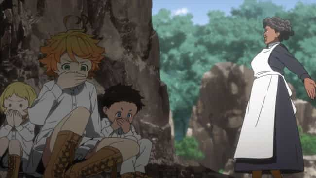 The Promised Neverland is listed (or ranked) 4 on the list The 12 Best Anime Training Arcs of All Time