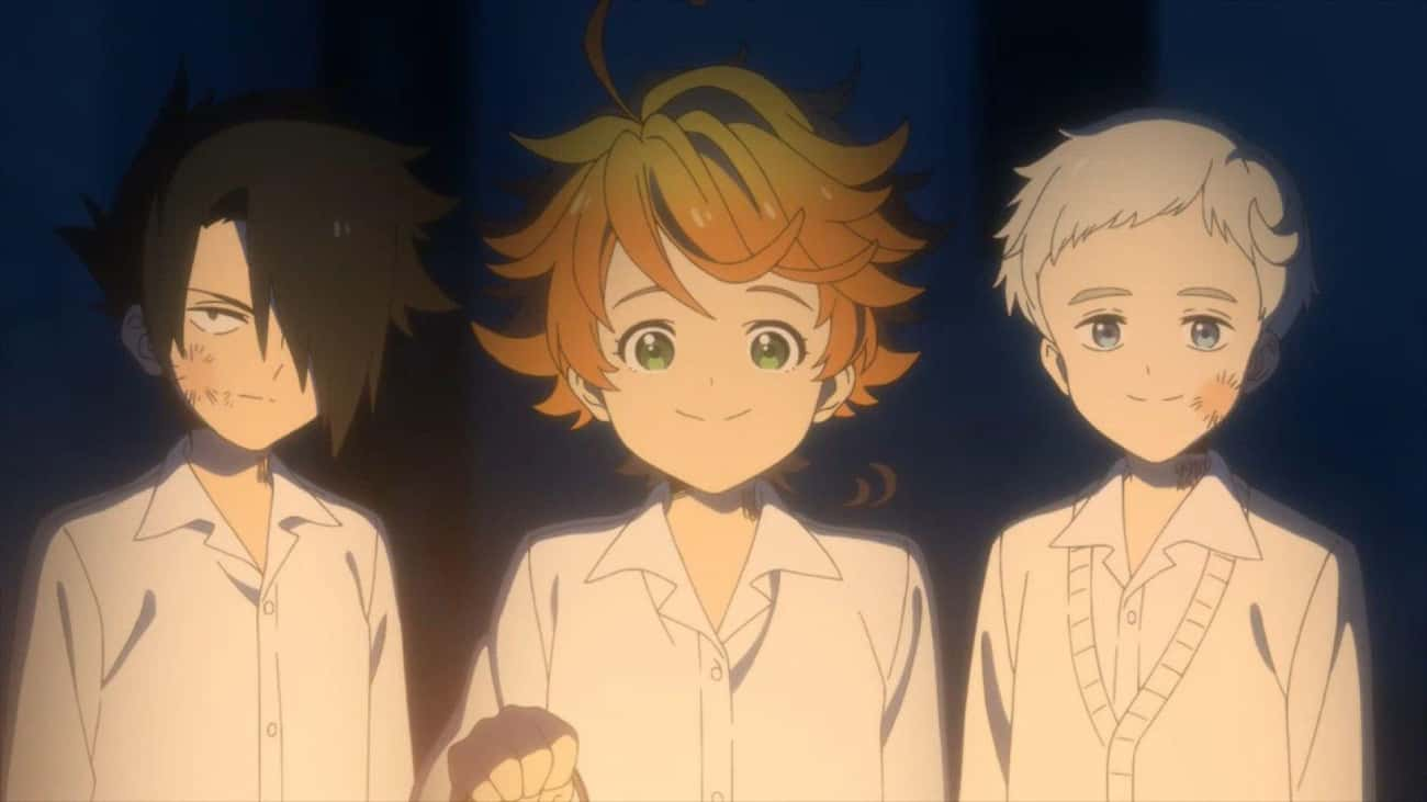The Promised Neverland is listed (or ranked) 2 on the list The 15 Best Anime With Child Protagonists