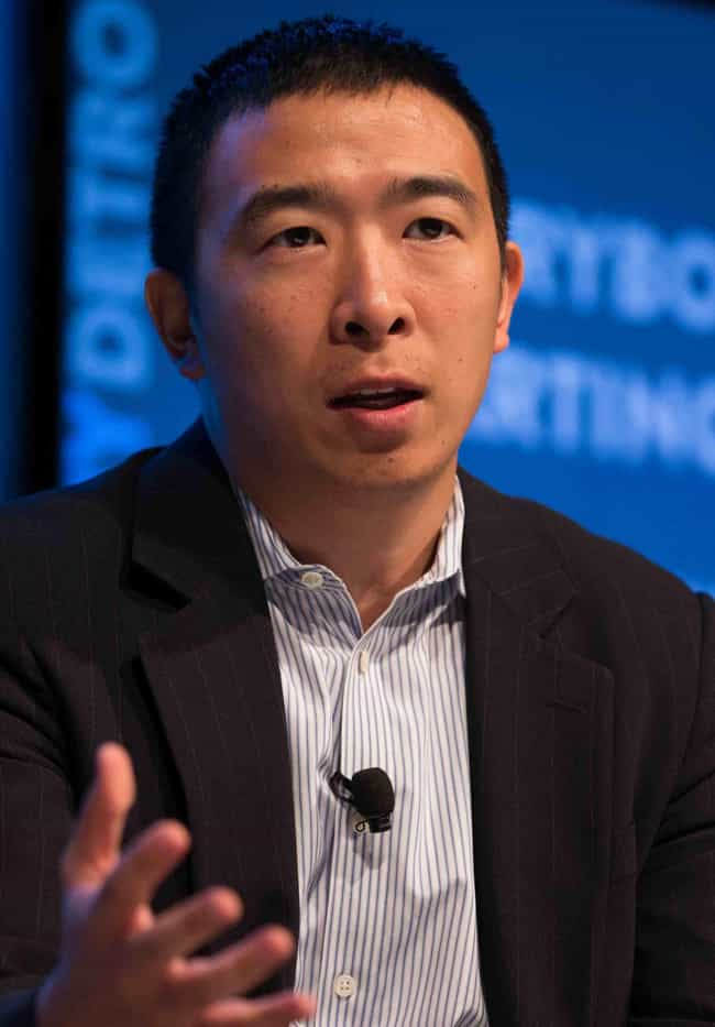 Andrew Yang is listed (or ranked) 2 on the list The Best 2020 Democratic Presidential Candidates